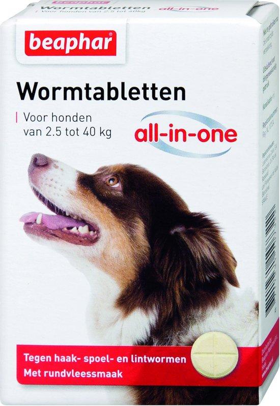 beaphar ontwormingstabletten hond