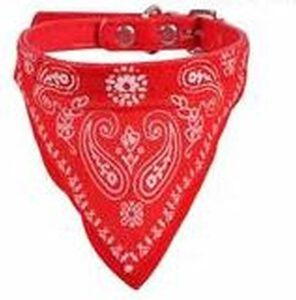 bandana boeren zakdoek print