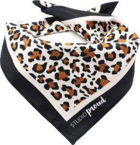 bandana shawl sjaal hond stylish luipaard leopard print