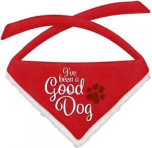kerst halsband good dog