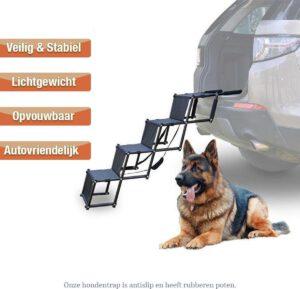 hondenloopplank dkb opvouwbaar lichtgewicht